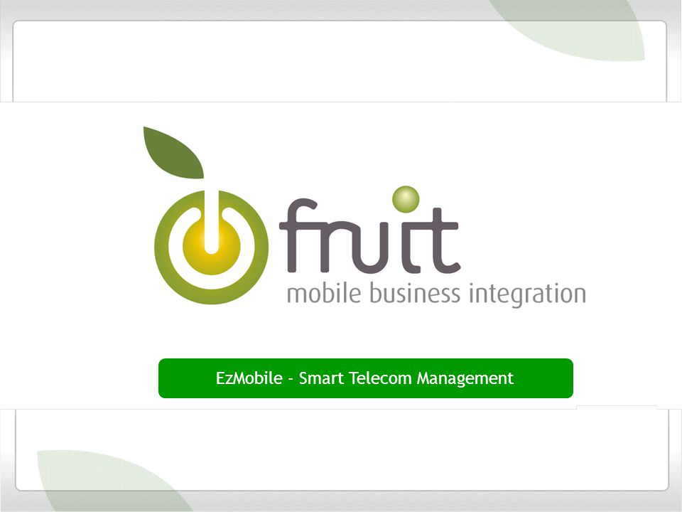 EzMobile - Smart Telecom Management