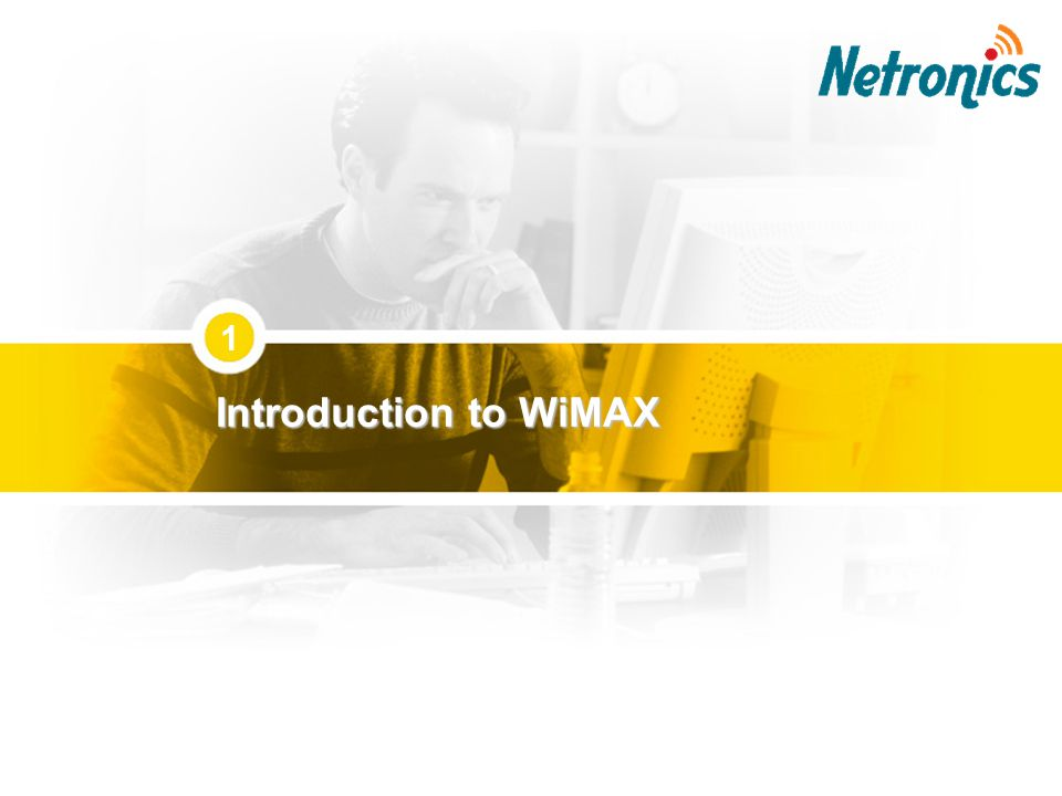 1 Introduction to WiMAX