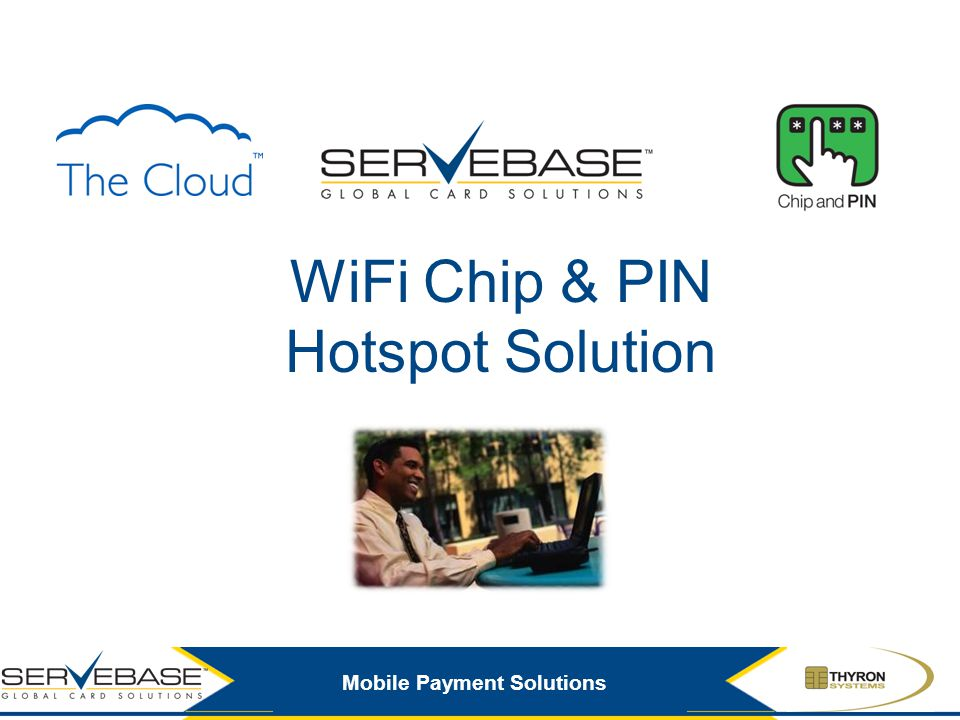 Mobile Payment Solutions WiFi Chip & PIN Hotspot Solution
