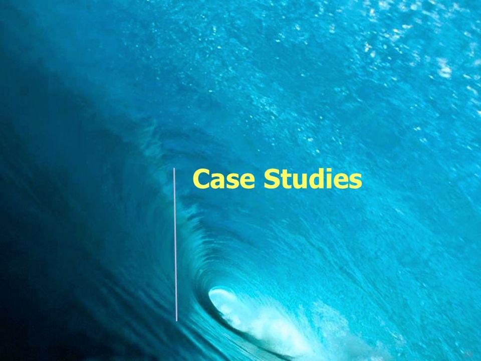 39 Case Studies
