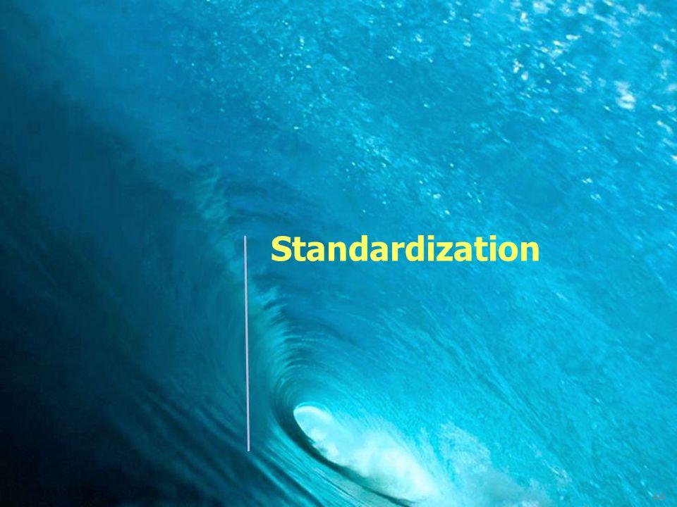 44 Standardization