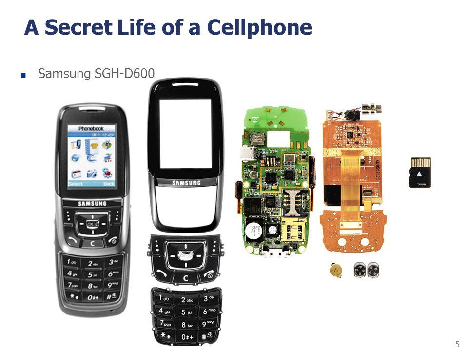 5 A Secret Life of a Cellphone Samsung SGH-D600