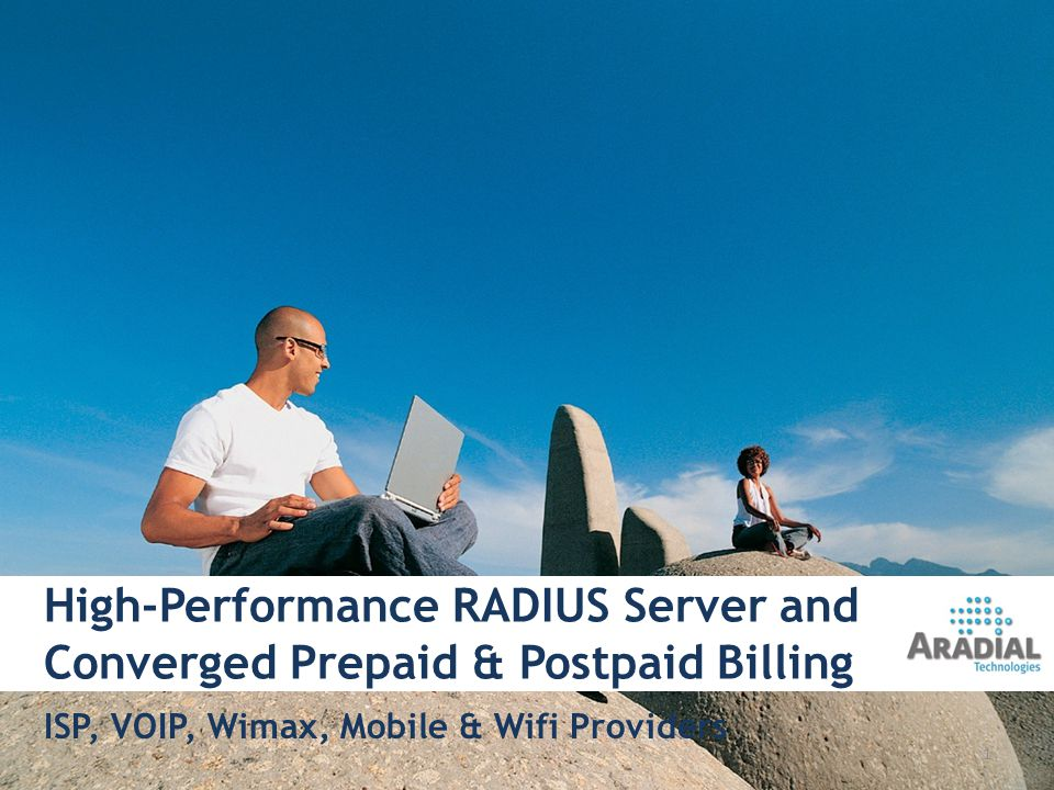 High-Performance RADIUS Server and Converged Prepaid & Postpaid Billing ISP, VOIP, Wimax, Mobile & Wifi Providers 1