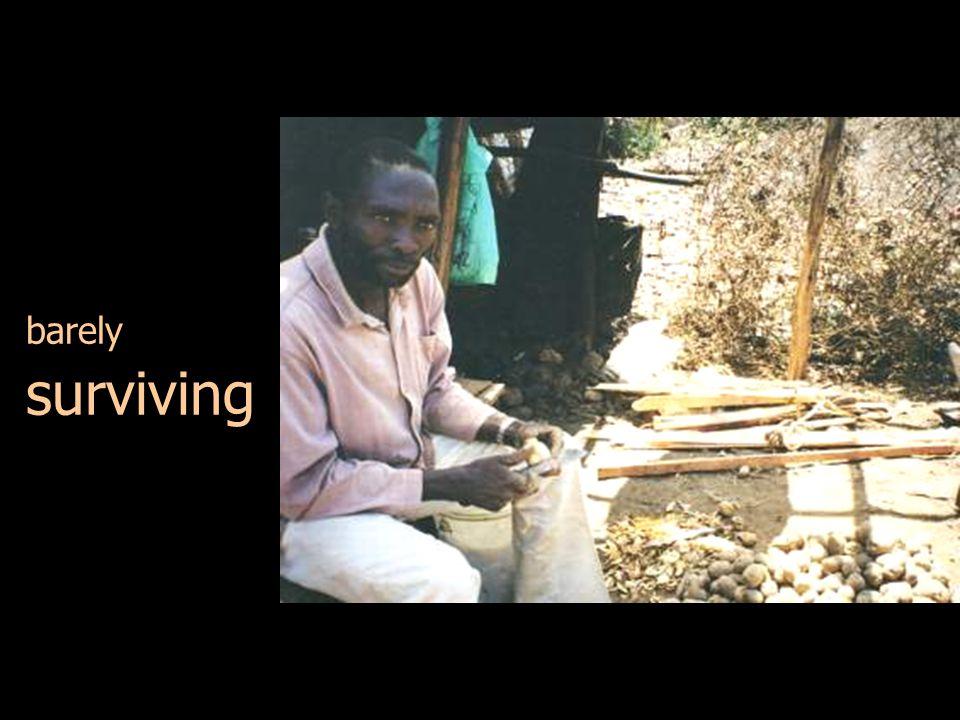 Ogembo village, 2001 Siaya village, 2003