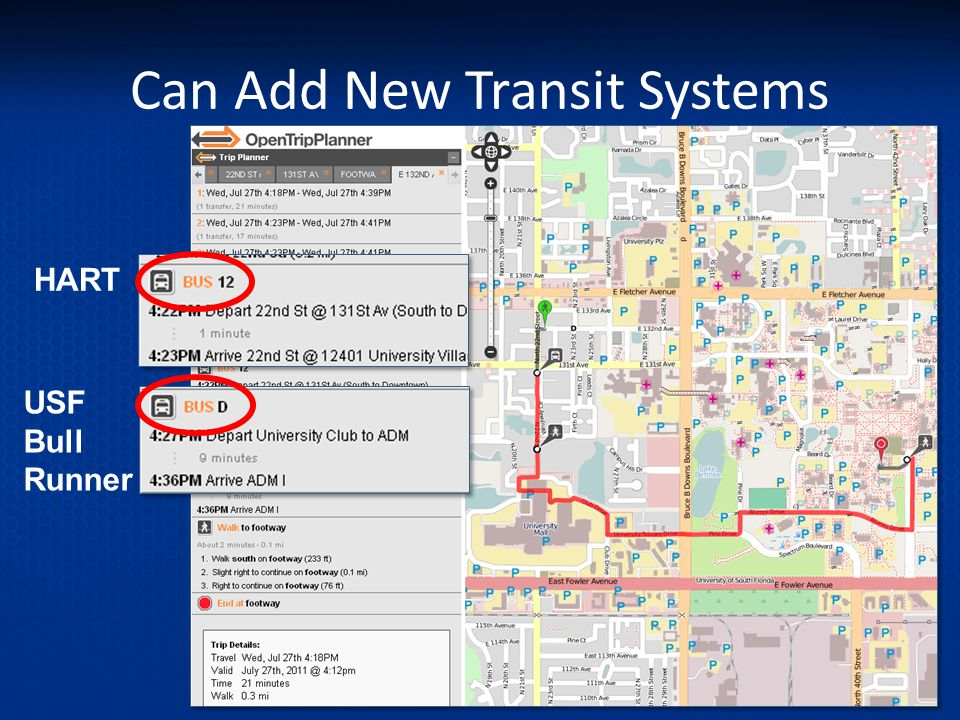 Can Add New Transit Systems HART USF Bull Runner