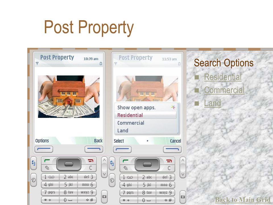 Post Property Search Options Residential Commercial Land