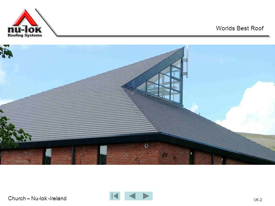 Church – Nu-lok -Ireland Worlds Best Roof UK-2