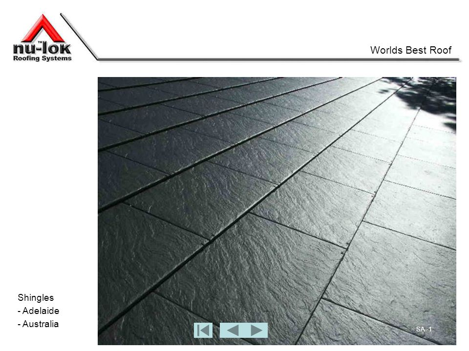 Shingles - Adelaide - Australia Worlds Best Roof SA -1