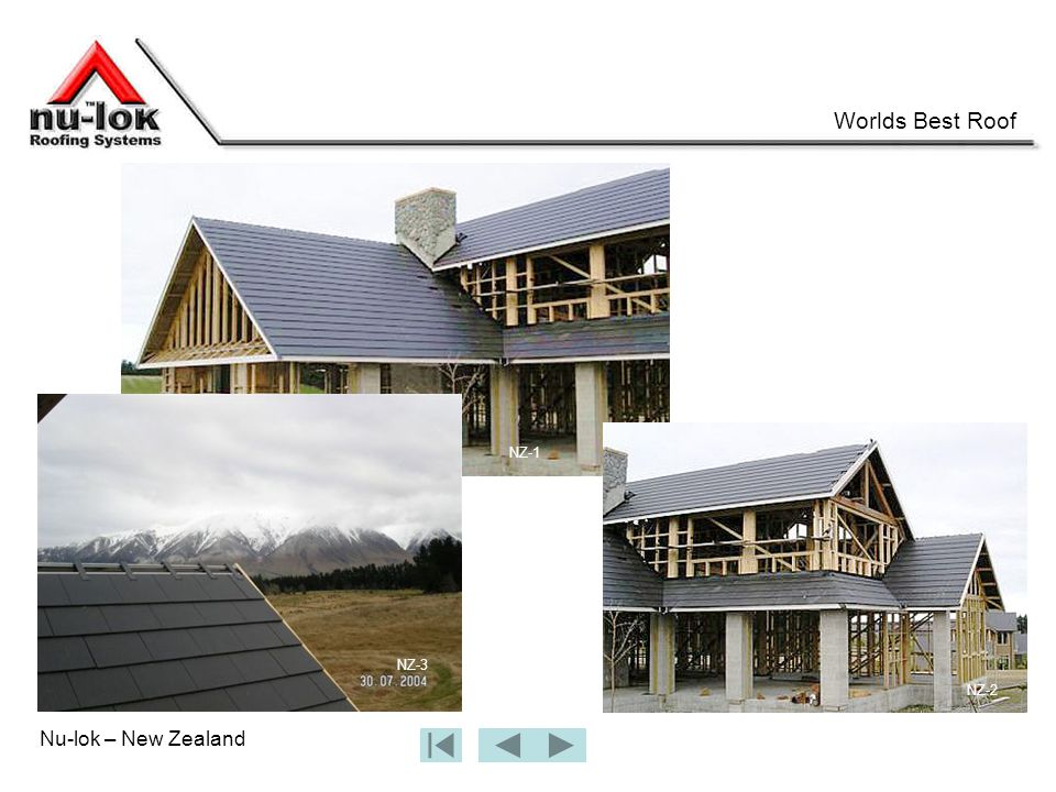 Nu-lok – New Zealand Worlds Best Roof NZ-1 NZ-2 NZ-3