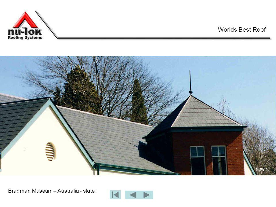 Bradman Museum – Australia - slate Worlds Best Roof NSW-13