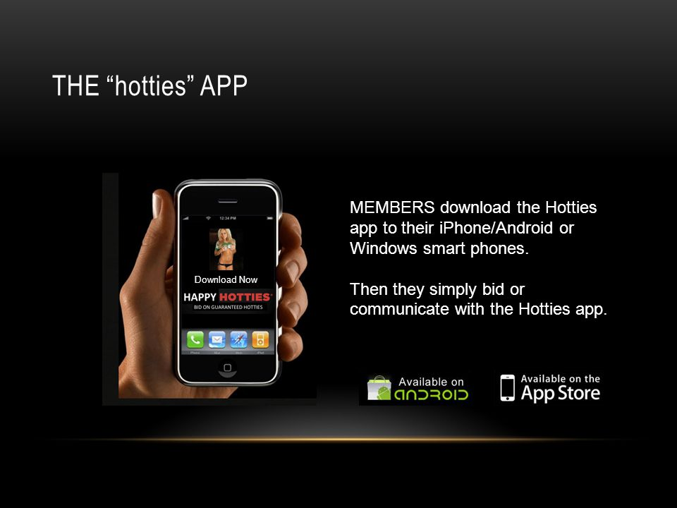 Smartphone Hotties APP