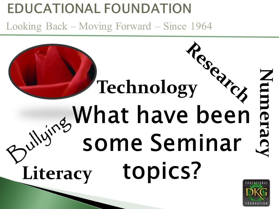 What have been some Seminar topics.