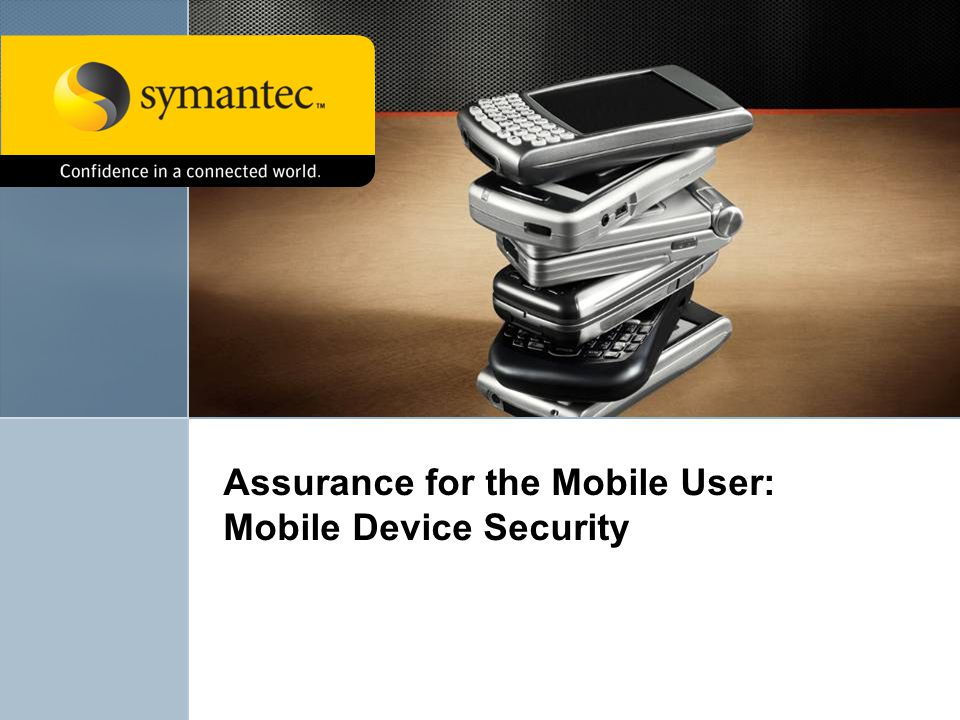 Assurance for the Mobile User: Mobile Device Security