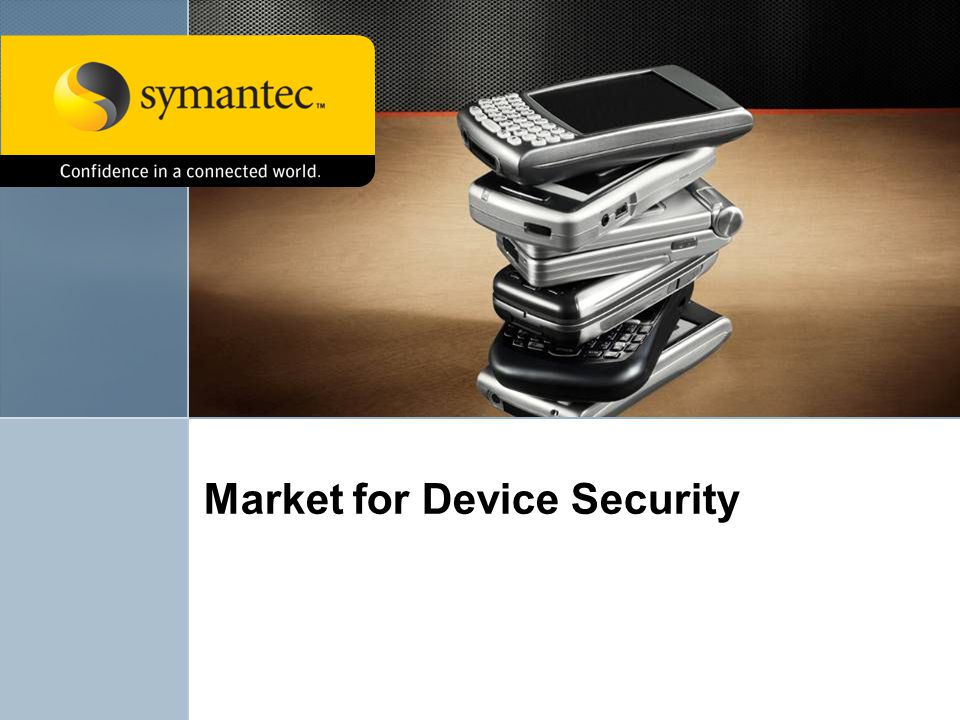 Market for Device Security