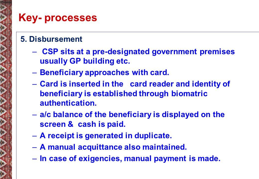 Key- processes 5.