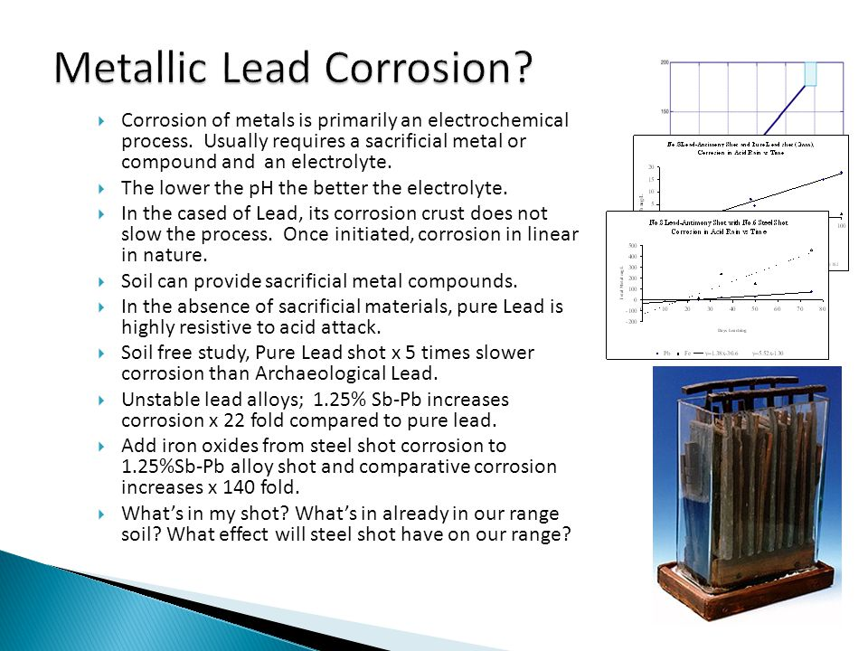 Corrosion of metals is primarily an electrochemical process.
