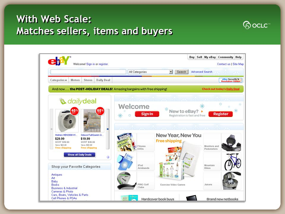 Data Web-scale Management Components Library UsersSuppliers Partners