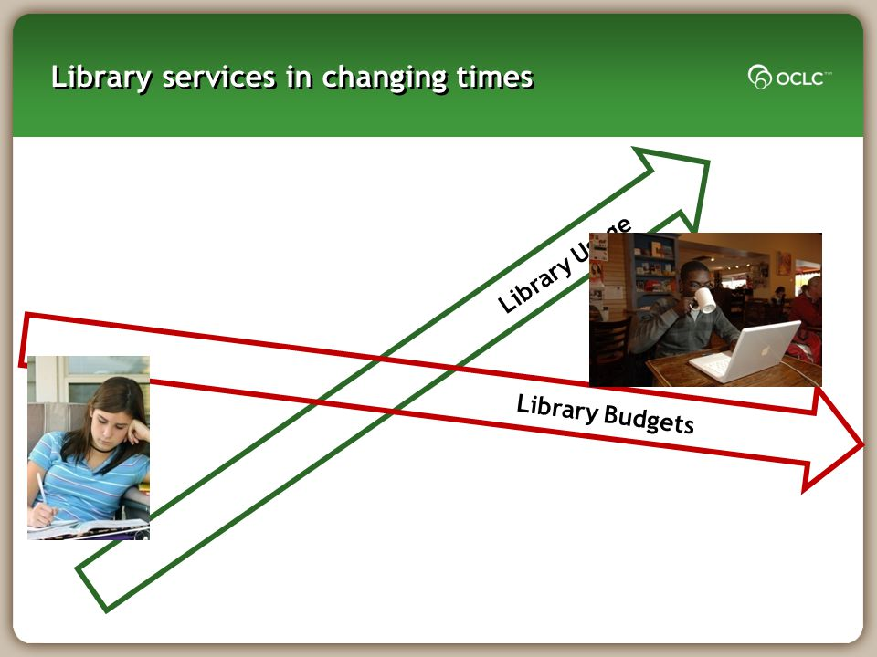 Library Usage Library services in changing times Library Budgets