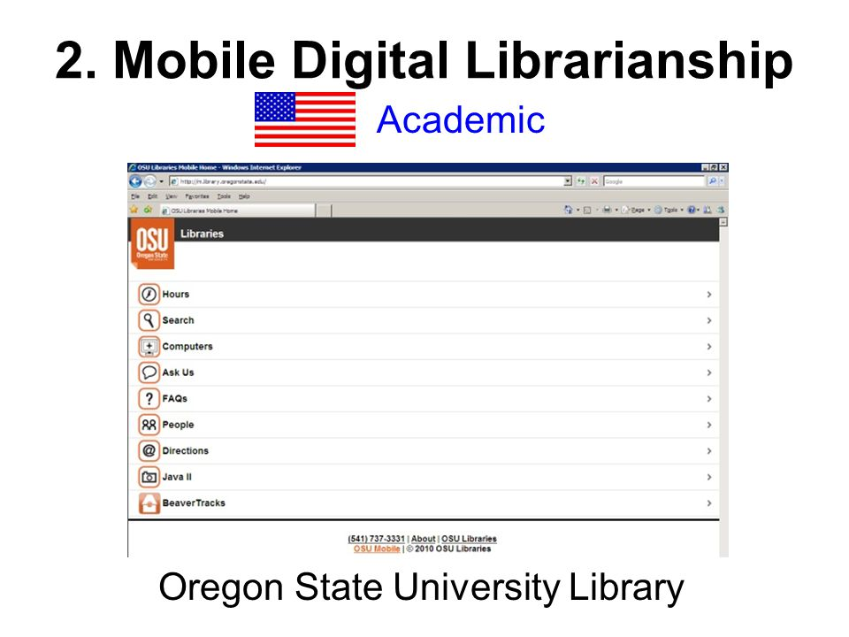 Academic Oregon State University Library