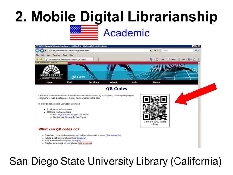 2. Mobile Digital Librarianship Academic San Diego State University Library (California)