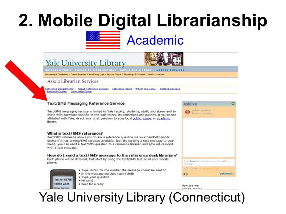 2. Mobile Digital Librarianship Academic Yale University Library (Connecticut)