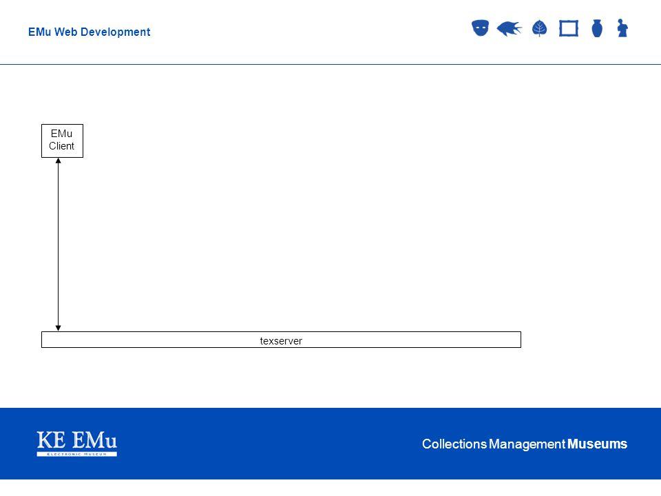 Collections Management Museums EMu Web Development texserver EMu Client