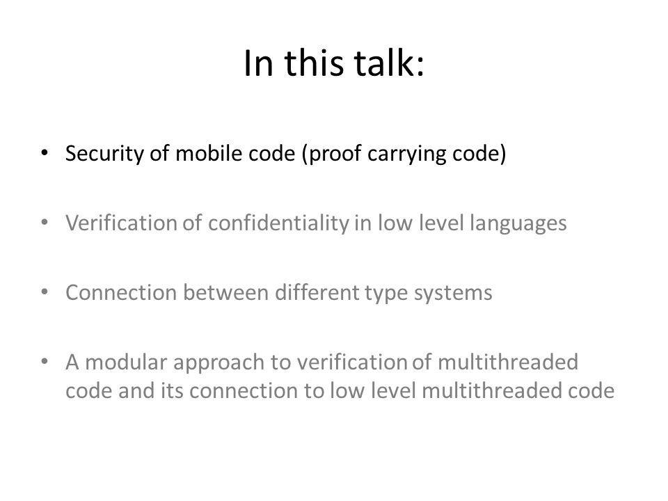 High-level codeLow-level code