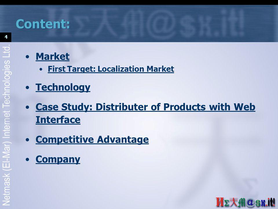15 Technology ® Netmask (El-Mar) Internet Technologies