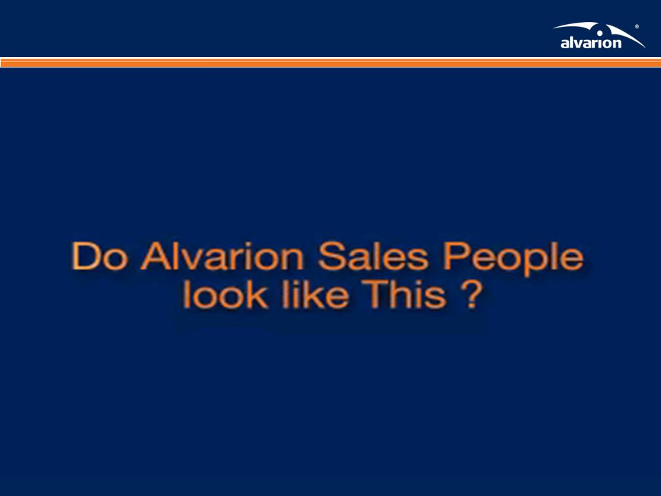 Proprietary Informatiom. What do you think about Alvarion?