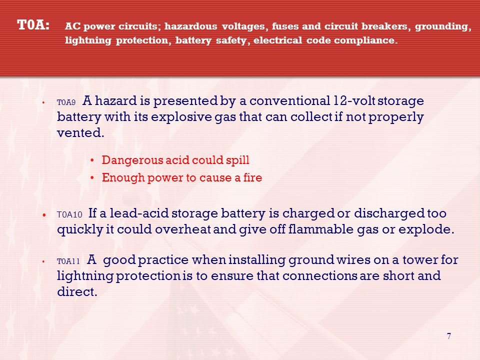 28 T0A10 What can happen if a lead-acid storage battery is charged or discharged too quickly.