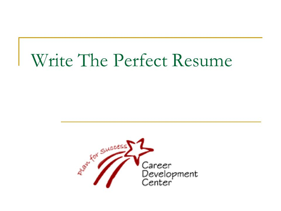 What to know before you start.People dont read resumes…They SKIM them.