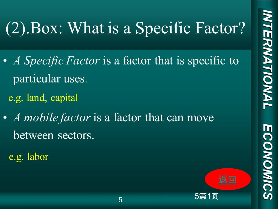 INTERNATIONAL ECONOMICS 03/01/20 COPY RIGHT 5 1 (2).Box: What is a Specific Factor.