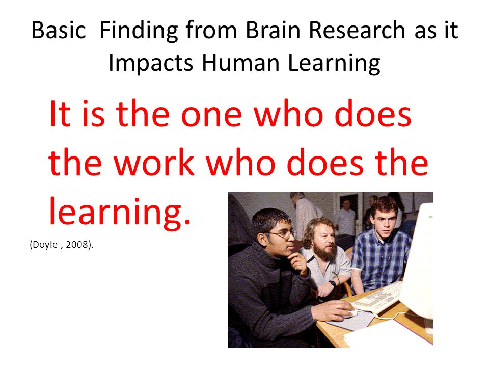Learning Activates the Brains Reward Pathway Real life, meaningful, and authentic learning activates the reward pathway in the brain It is this pathway that keeps us alive (Dr.