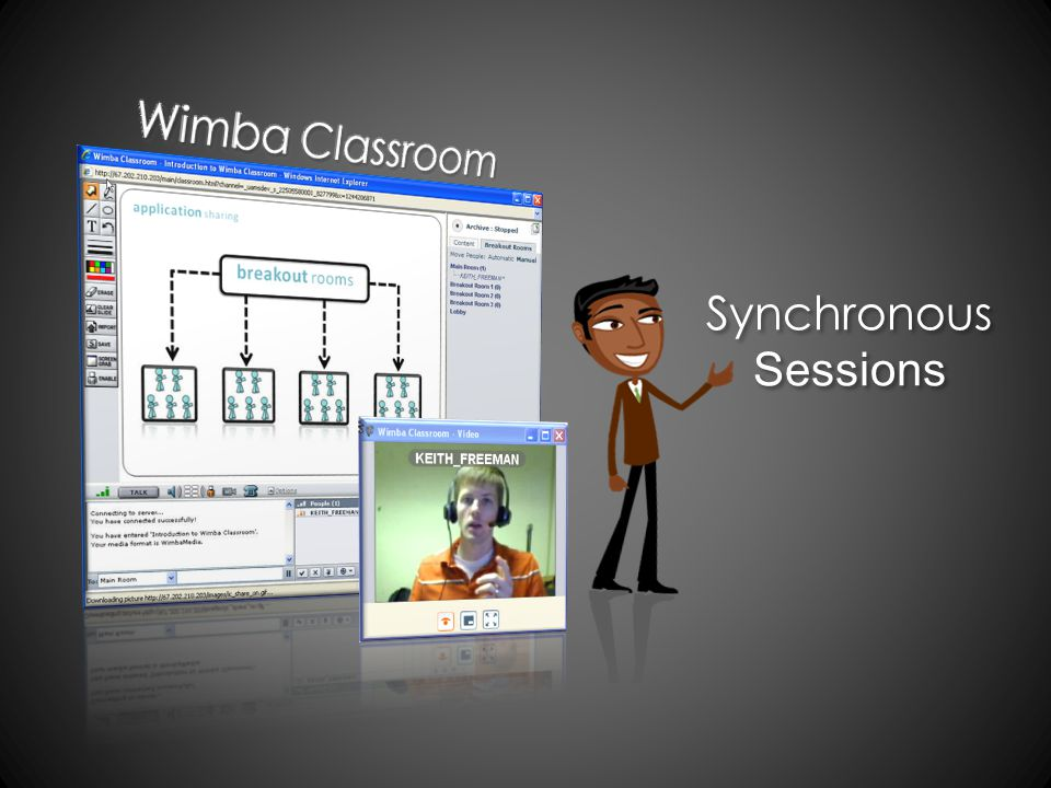 Synchronous Sessions