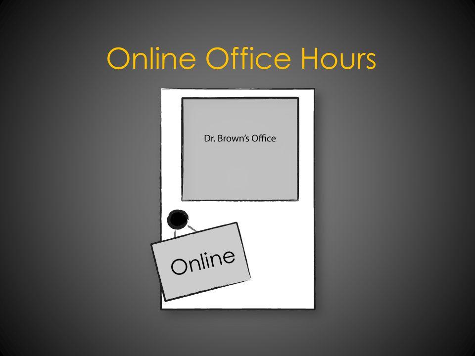 Online Office Hours Online