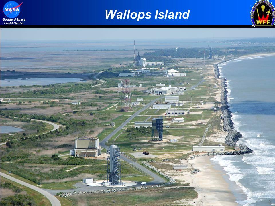 2 Goddard Space Flight Center Wallops Island