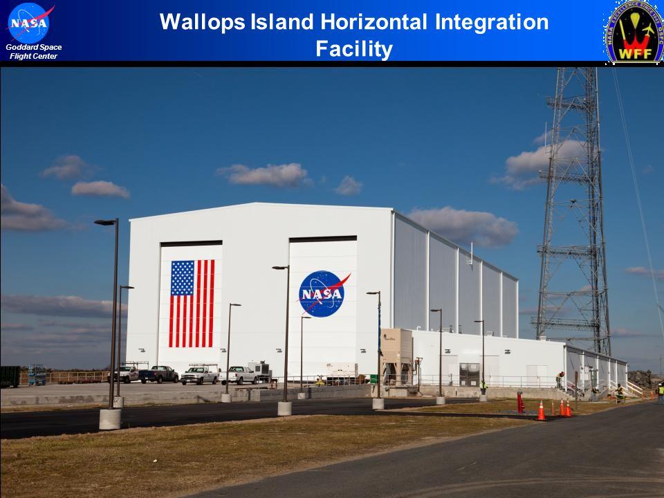 4 Goddard Space Flight Center Wallops Island Horizontal Integration Facility