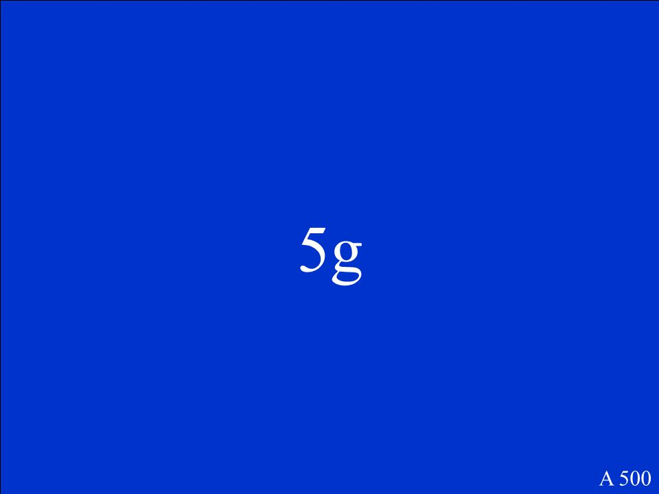 If 5g of A reacts with 3g of B in the reaction A+B C+D, how much C would be produced if 3g of D is formed according to the Law of Conservation of Mass.