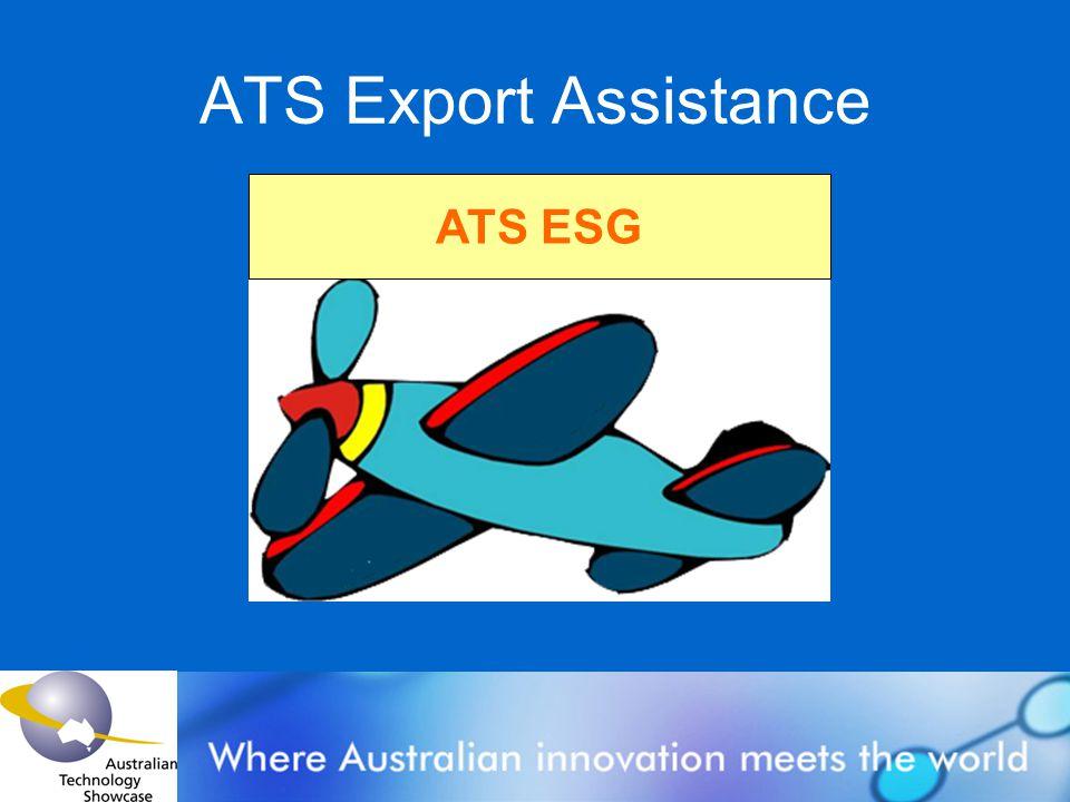 ATS Export Assistance ATS ESG