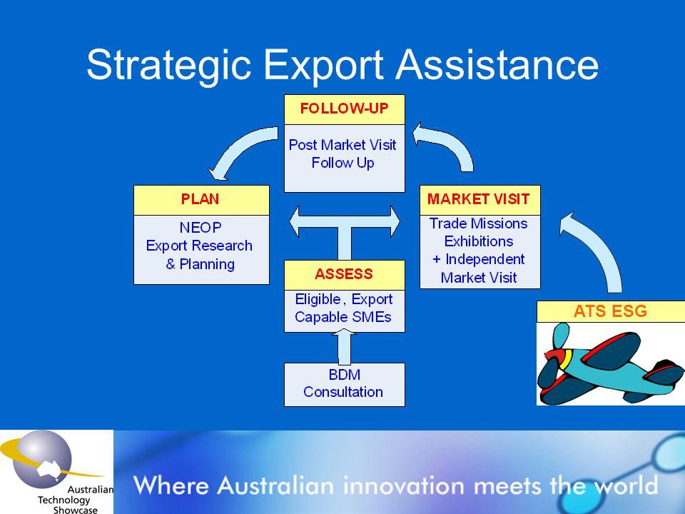 Strategic Export Assistance ATS ESG