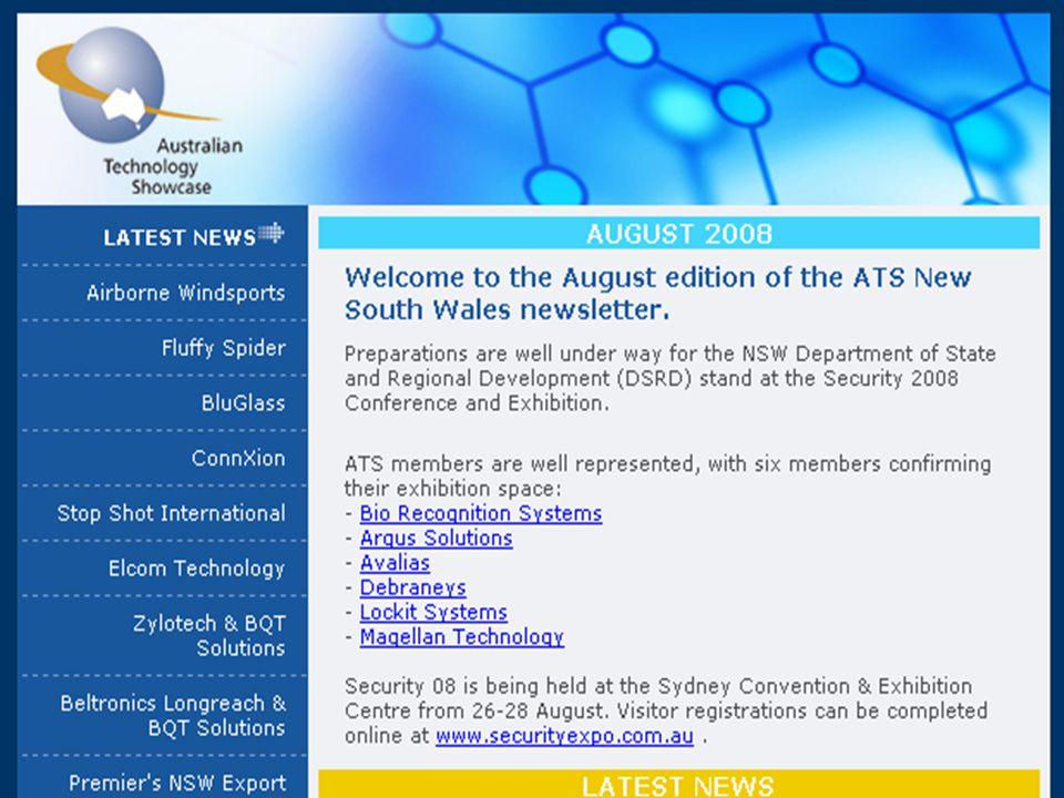 ATS newsletter