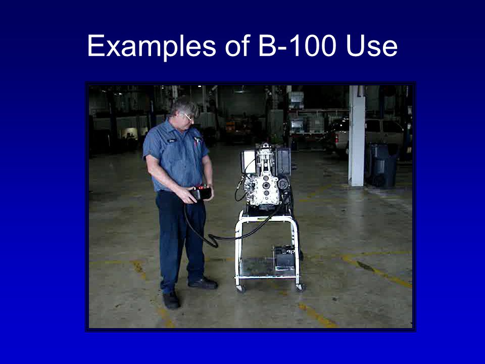 Examples of B-100 Use