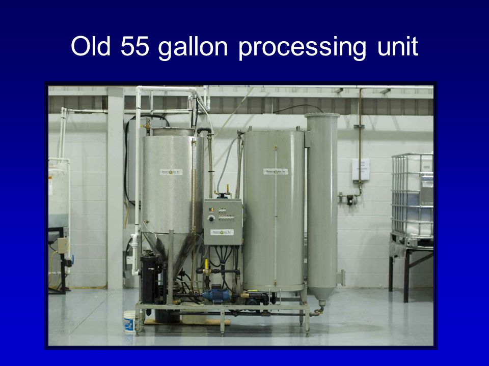 Old 55 gallon processing unit