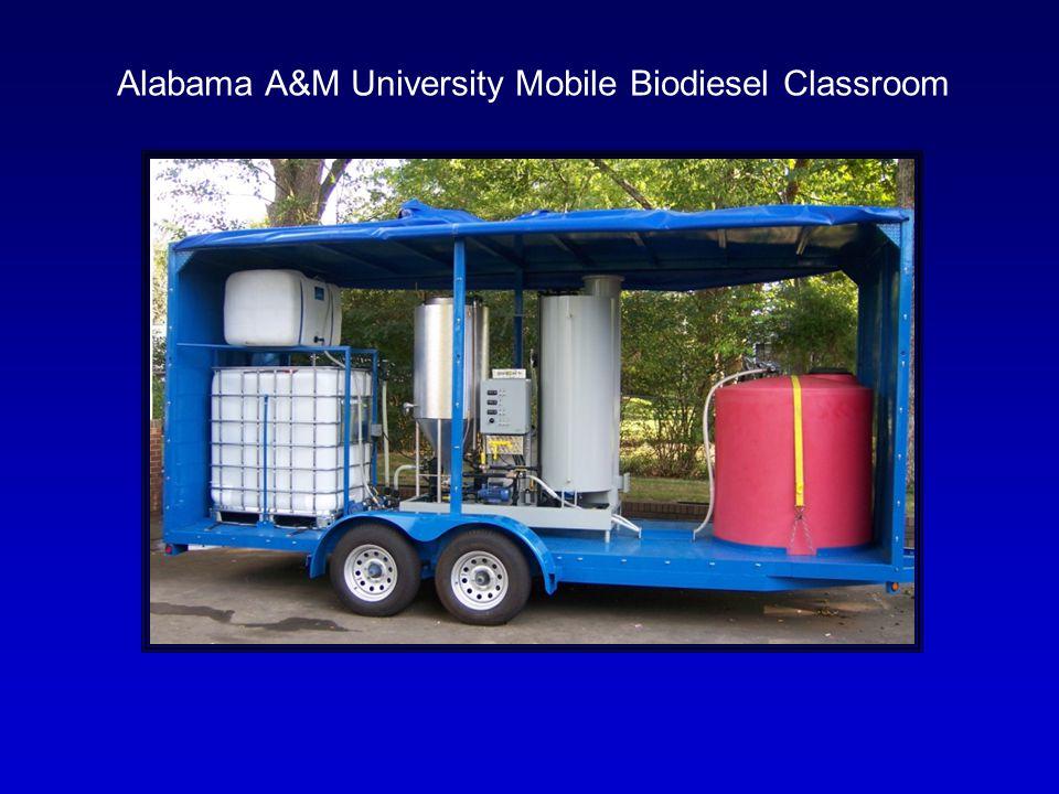Alabama A&M University Mobile Biodiesel Classroom
