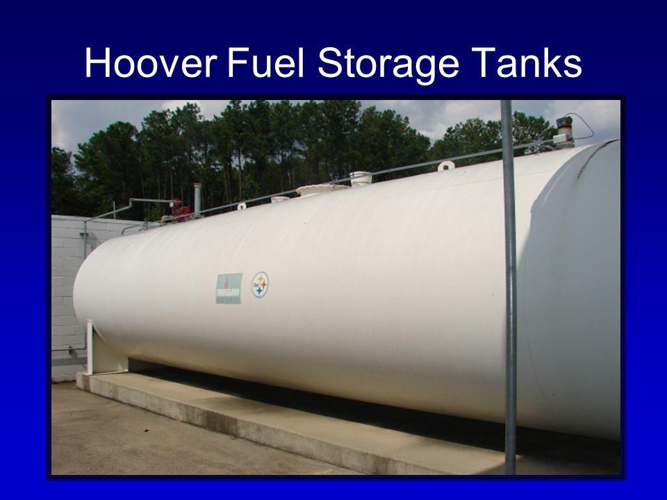 Hoover Fuel Storage Tanks