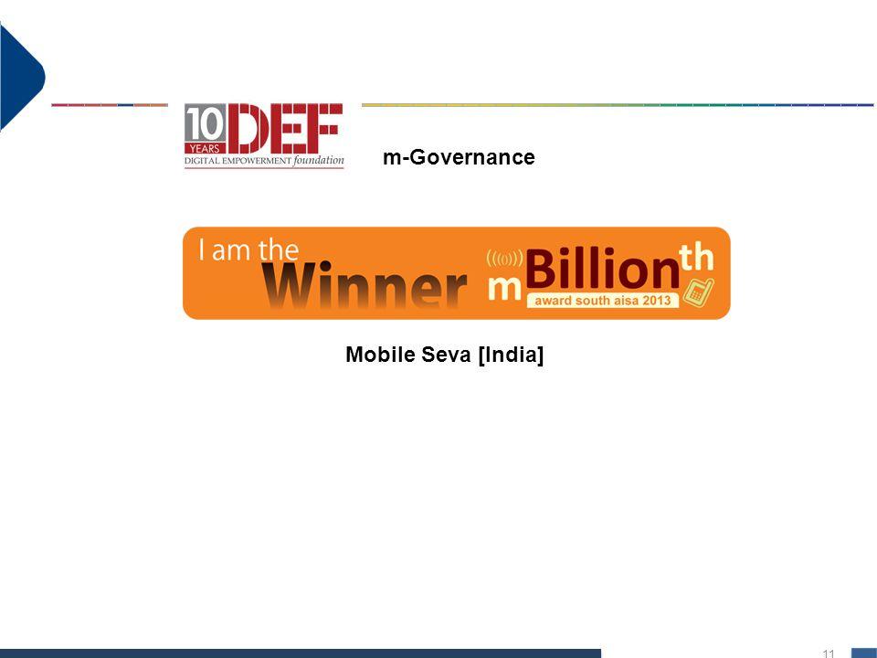 11 Mobile Seva [India] m-Governance