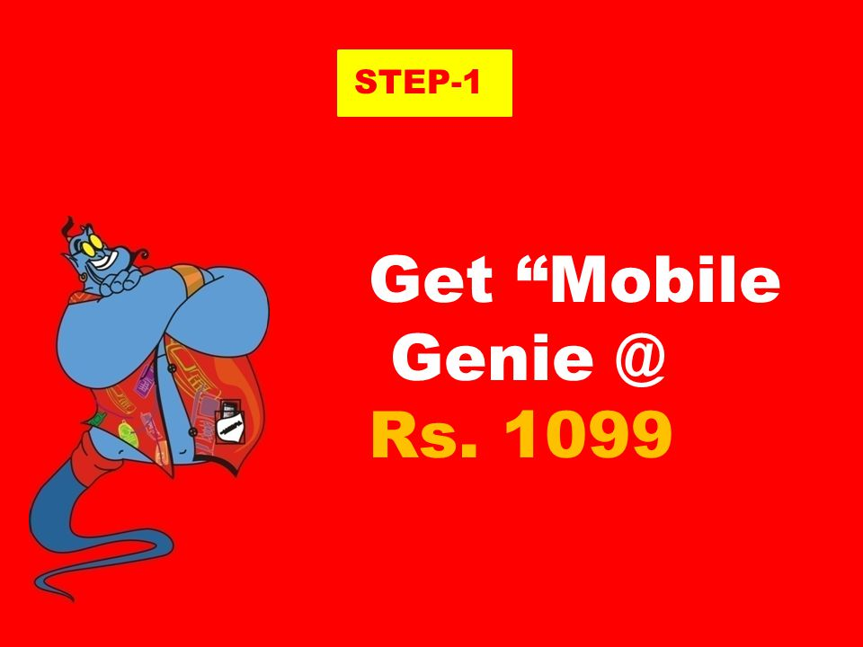 In just 3 STEPS How to get Mobile Genie Power Mobile Genie Power