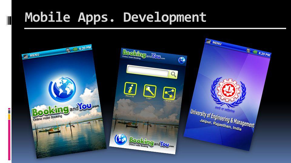 Mobile Apps. Development