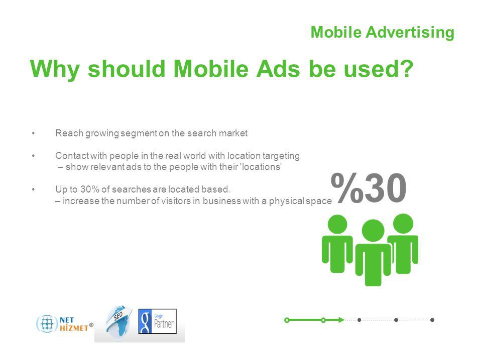 Mobil Reklamcılıkile hareket halindeki insanlara ulaşın Why should Mobile Ads be used.