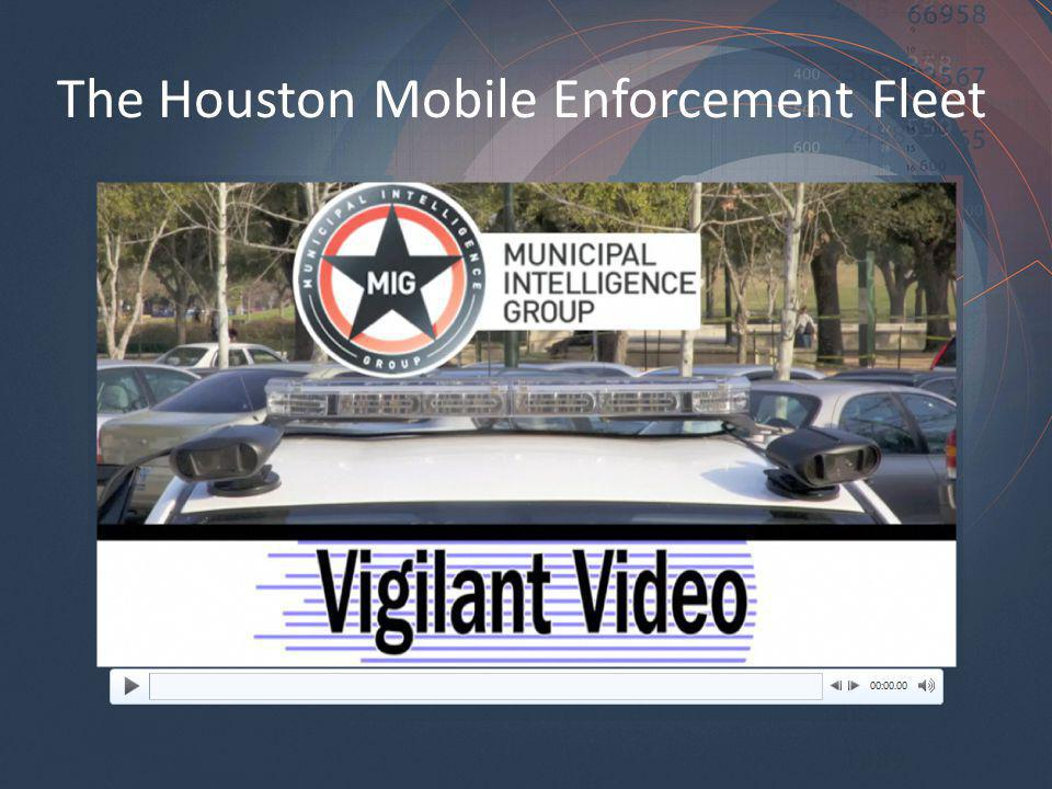 The Houston Mobile Enforcement Fleet